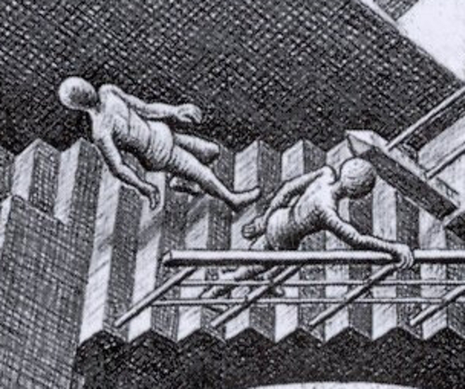 Relativity-escher-detail